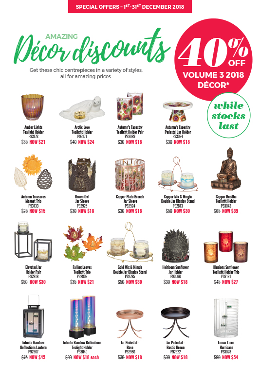 December Decor Discounts