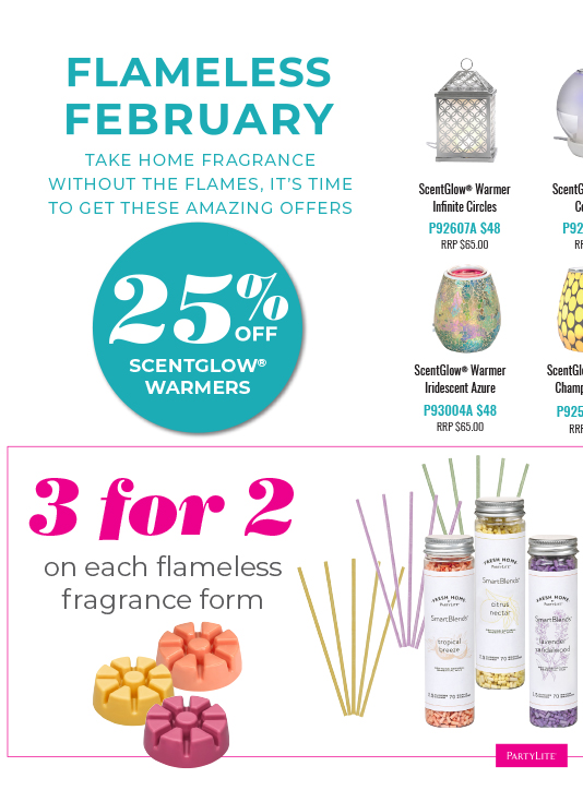 February Guest Offer - Flameless Fragrance
