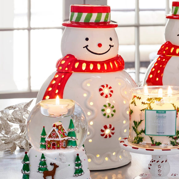 Image result for image partylite Mr.Frosty