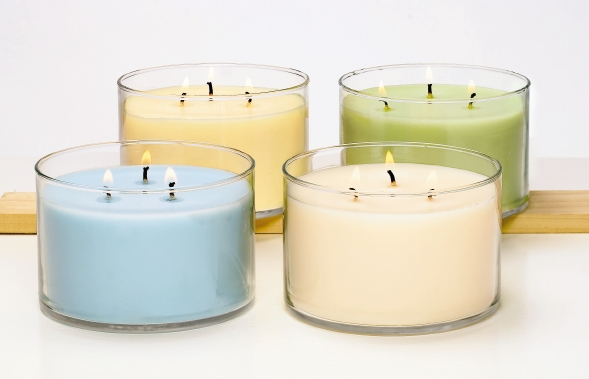 Fresh Home By Partylite Odour Neutralising 3 Wick Jar Bluer Skies